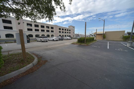 Depot Drive, behind the Sunrise Theatre in Fort Pierce, is a possible location for a train station for Virgin Trains USA.