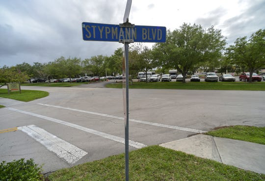 Stypmann Boulevard at Souteast Flagler Avenue in Stuart is one possible location for a train station for Virgin Trains USA.