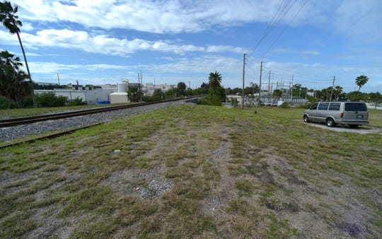 A possible location for a future train station for Virgin Trains USA. The H.D. King site, Downtown Fort Pierce.