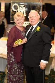Paulette Craft and Robert Levitsky, chairs of the 2019 gala to benefit the Martin County Volunteers in Medicine Clinic.