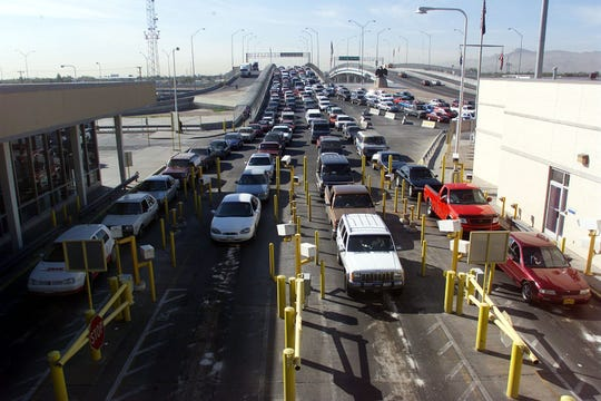 On the days following the 9/11 tragedy more stringent security measures were put into effect along the U.S. border crossing ports of entry.