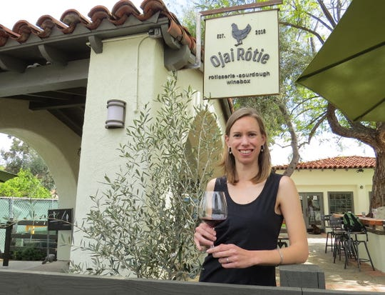 Emily Johnston, a Level 3 Advanced Sommelier who grew up in Ojai, is back in town as the wine director for Ojai Rotie, a combination bakery, rotisserie and wine cafe opening this spring at 469 E. Ojai Ave.