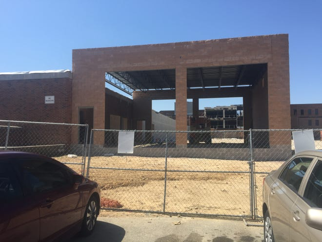 Vineland expects its Emergency Medical Services Division to be able to move into its new headquarters off South State Street no later than early June. This view of the project is from the Howard Street side of the property.