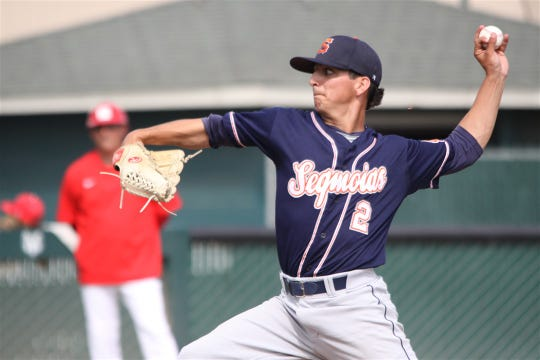 Jake Hernandez is a pitcher on the College of the Sequoias' baseball team.