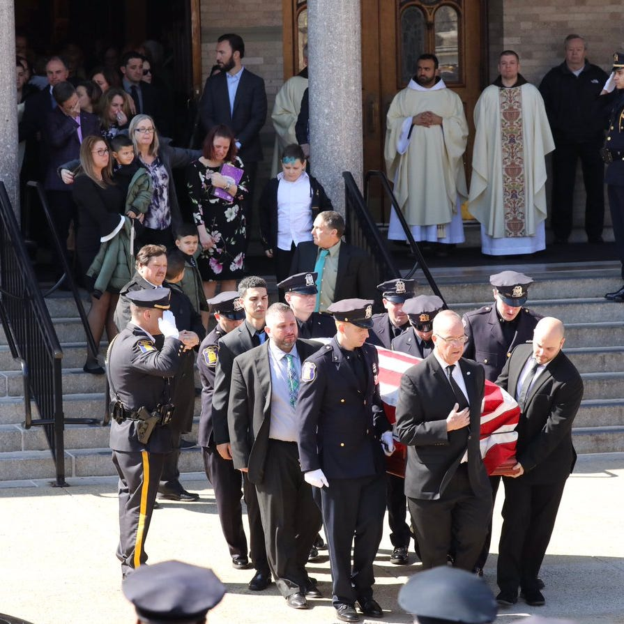 Yonkers officer who unexpectedly died mourned at funeral