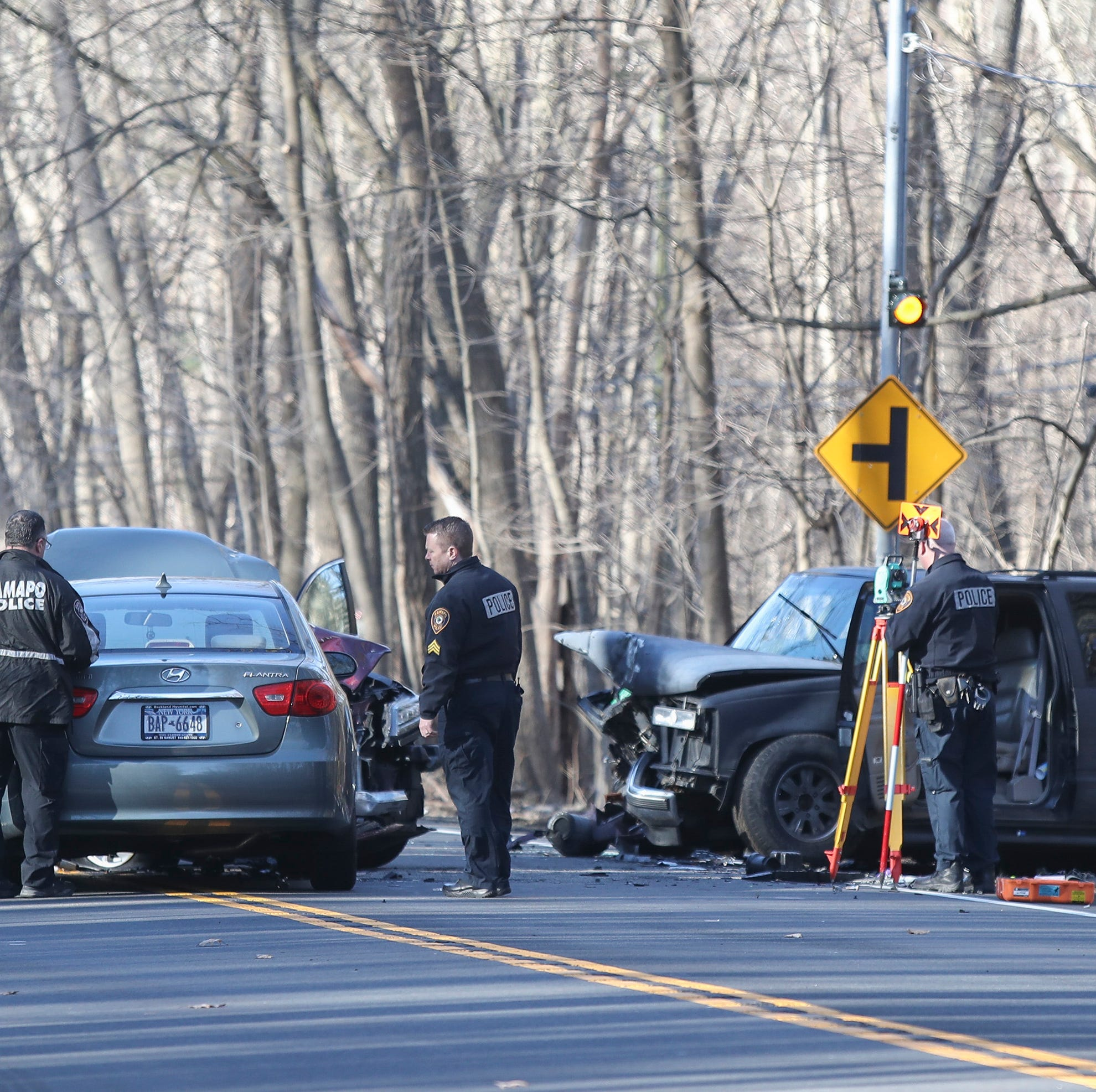 Pomona man dies in Route 202 three-car crash in Ramapo