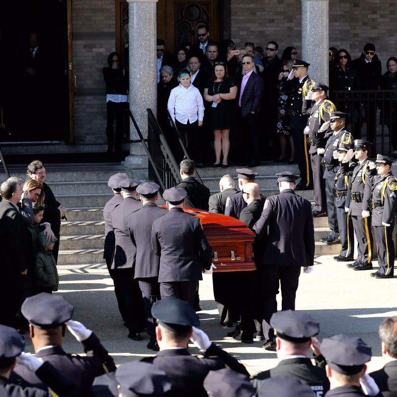Funeral begins for Yonkers officer who unexpectedly died