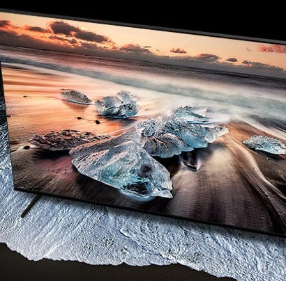 This insanely massive 8K TV is a steal right now at Massdrop.