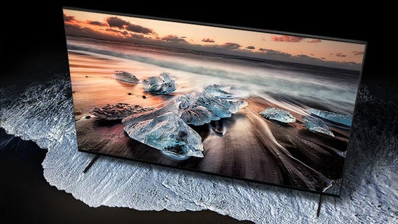 Samsung's brand new 8K TV is massive—and it's $3,000 off right now