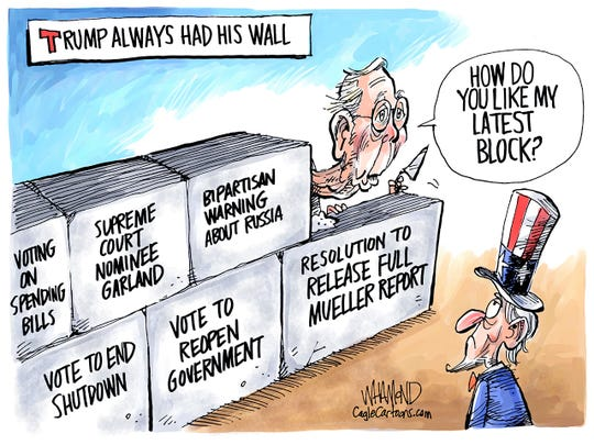 McConnell and his blocks