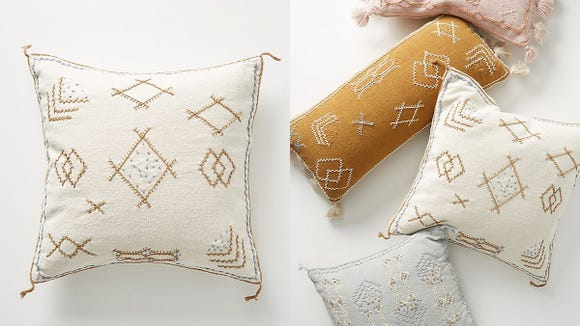 These pillows from Joanna Gaines will bring an airy, boho chic vibe to your home.