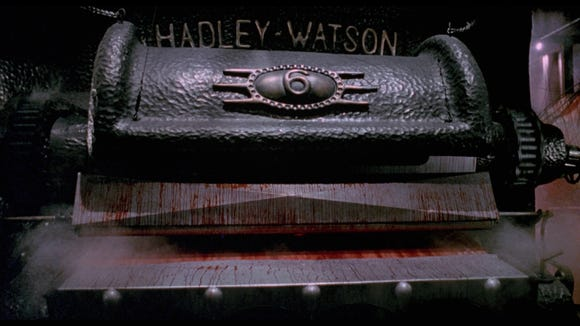 """A possessed laundry press is the supernatural villain of """"The Mangler."""""""