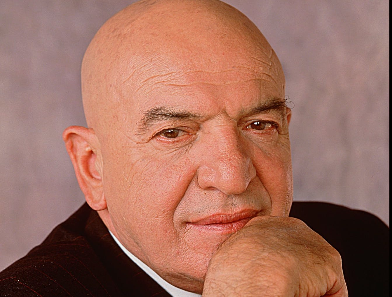 1989 ----FILE PHOTO---- Actor, Telly Savalas