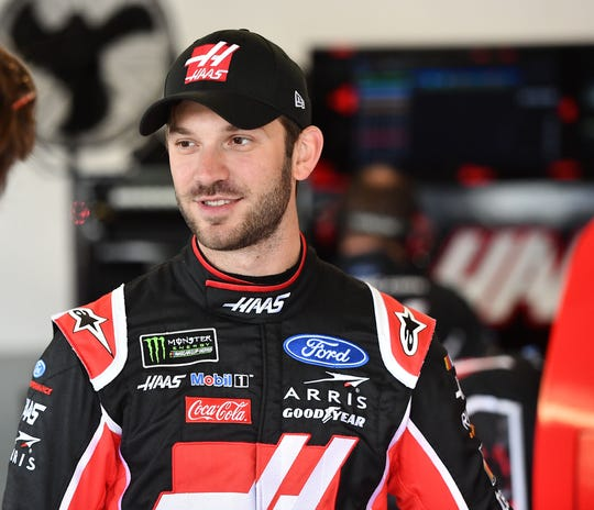 Daniel Suarez has three top-10 finishes in 2019, his first season with Stewart-Haas Racing.