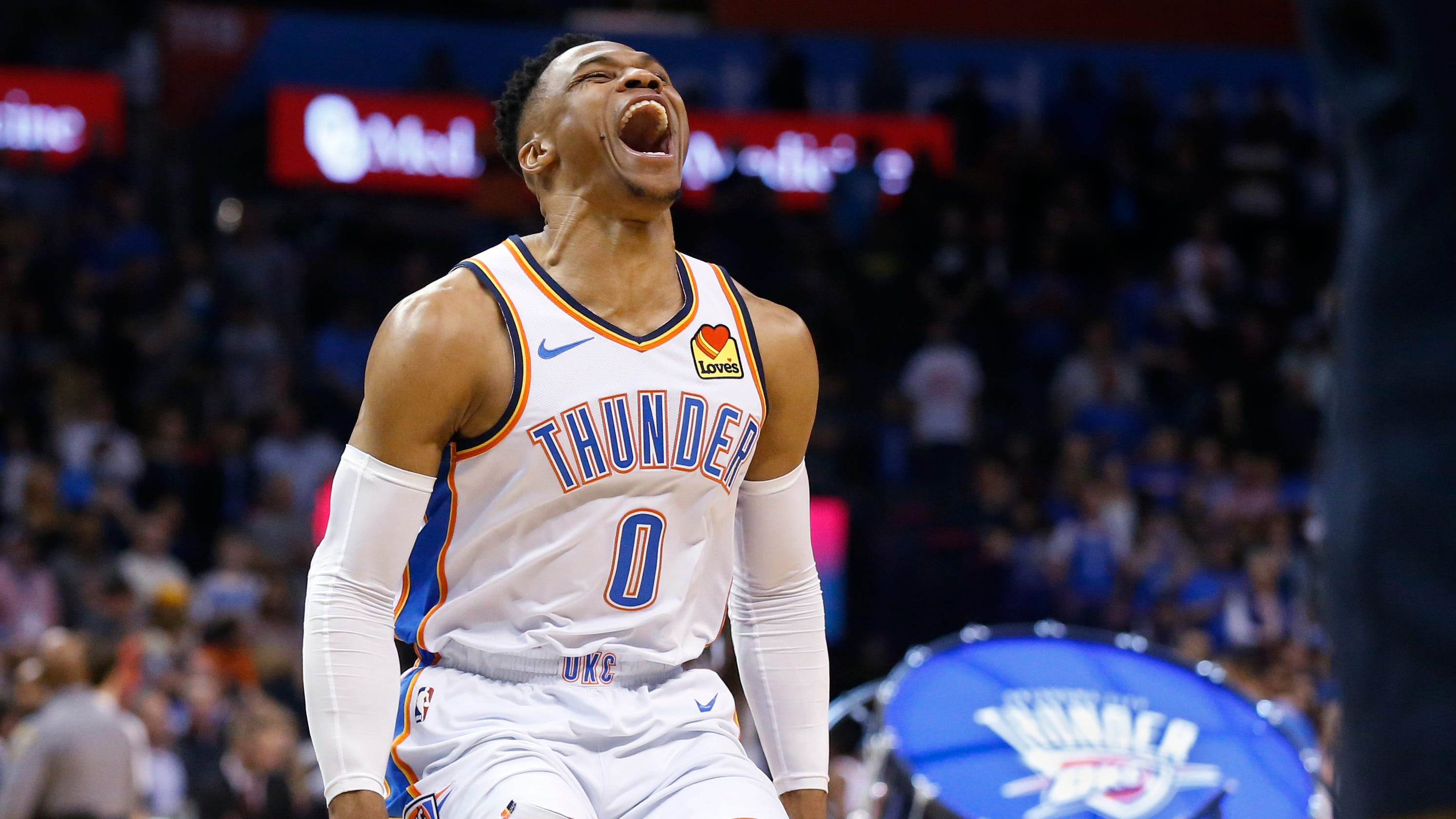 3ab5786b464 Russell Westbrook records NBA s second 20-20-20 triple-double