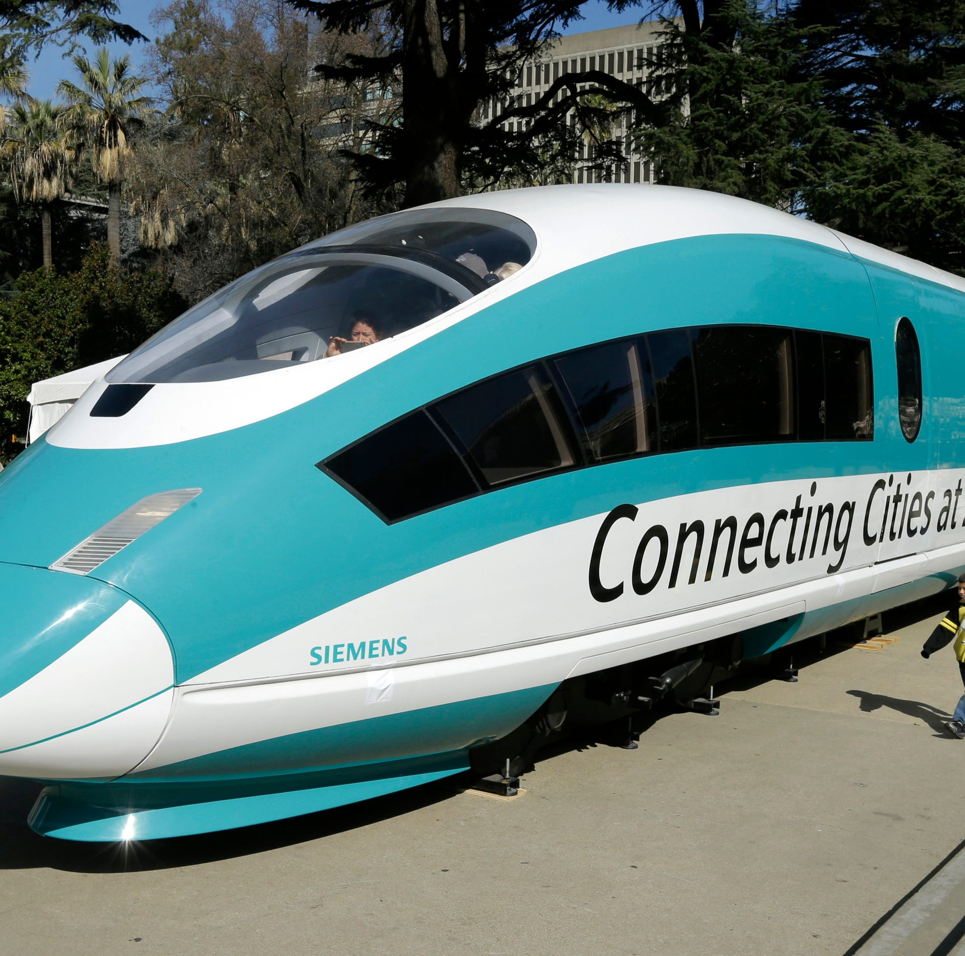 California sues over $1B in canceled high-speed rail funding, escalating feud with Trump administration