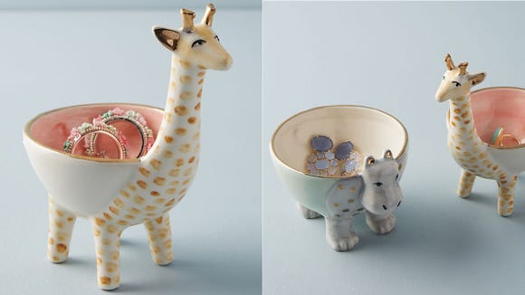 These adorable trinket dishes are perfect for the safari-lover in your life (even if that's you!).