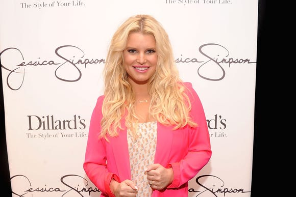 Jessica Simpson visits Dillard's at International Plaza In Support Of the Jessica Simpson Collection on November 17, 2012 in Tampa, Florida.