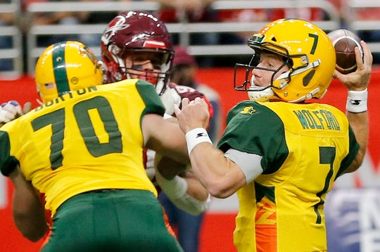 John Wolford and the Arizona Hot Shots won the last AAF game, beating the San Antonio Commanders 23-6.