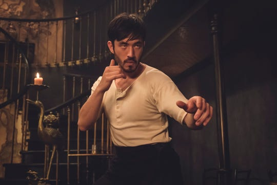 "Andrew Koji stars in the lead role of Cinemax's ""Warrior,"" a show conceived by martial-arts legend Bruce Lee."