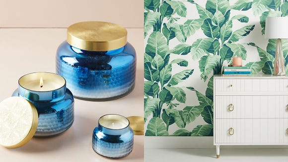 Anthropologie's discounting some amazing home decor and furniture right now.