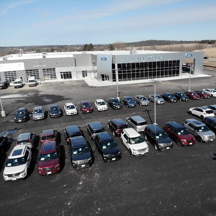 The Buzz: All World Ford relocates from Hortonville to new Greenville dealership