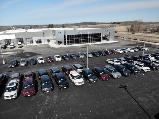 All World Ford opened Monday in Greenville.