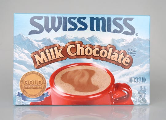 Swiss Miss hot cocoa mix was invented in Wisconsin in the 1960s.