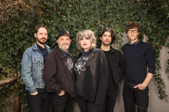 Martha Davis and the Motels, from left: Nic Johns, Marty Jourard, Martha Davis, Clint Walsh and Eric Gardner.