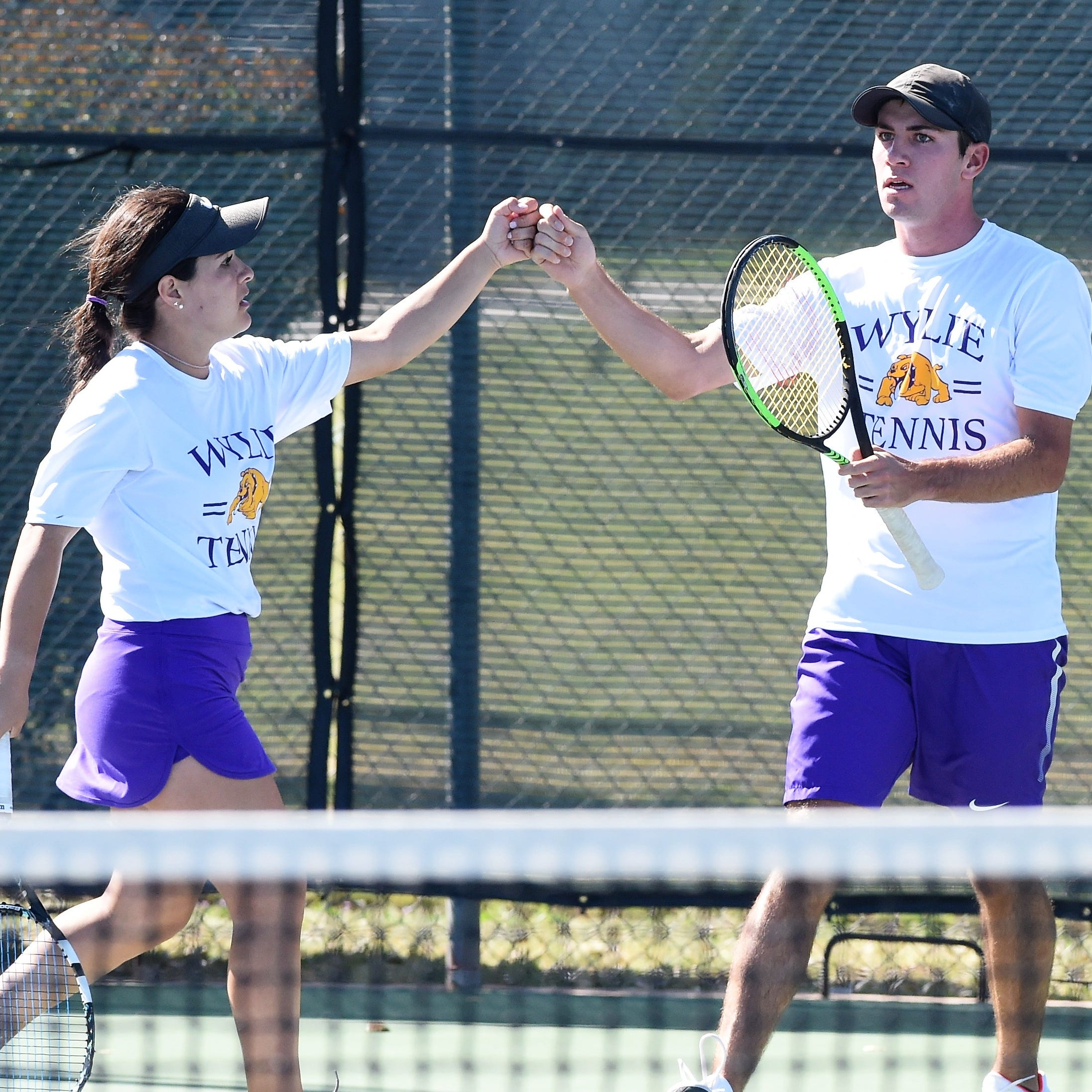 Abilene Wylie tennis claims three District 4-5A titles, runner-up in other two