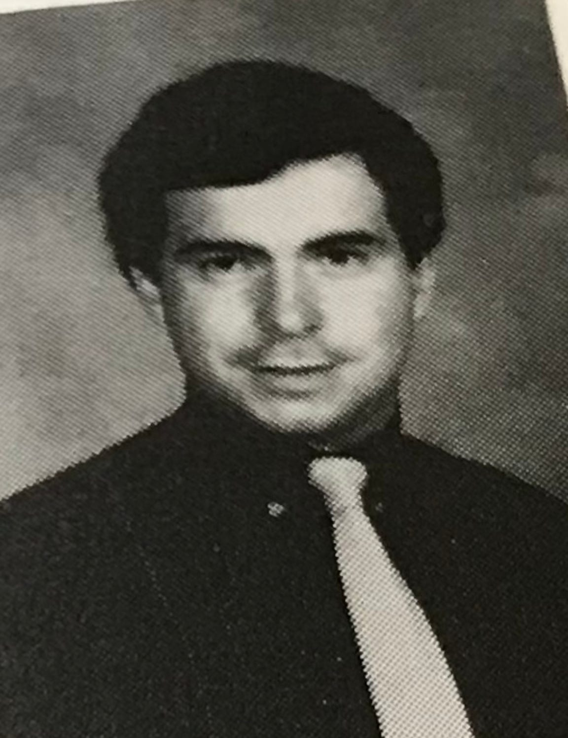 Bill Murdock as a teacher in the 1980s.