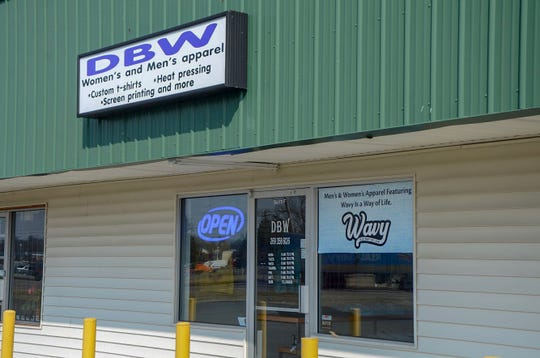 Brian Whitt opened DBW, which stands for Designs by Whitt, at 1950 West Columbia Ave. in August 2018.