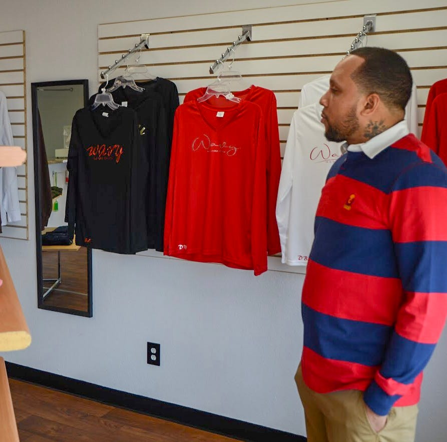 Custom clothing store DBW, opened on Columbia Avenue 7 months ago, already plans on expanding