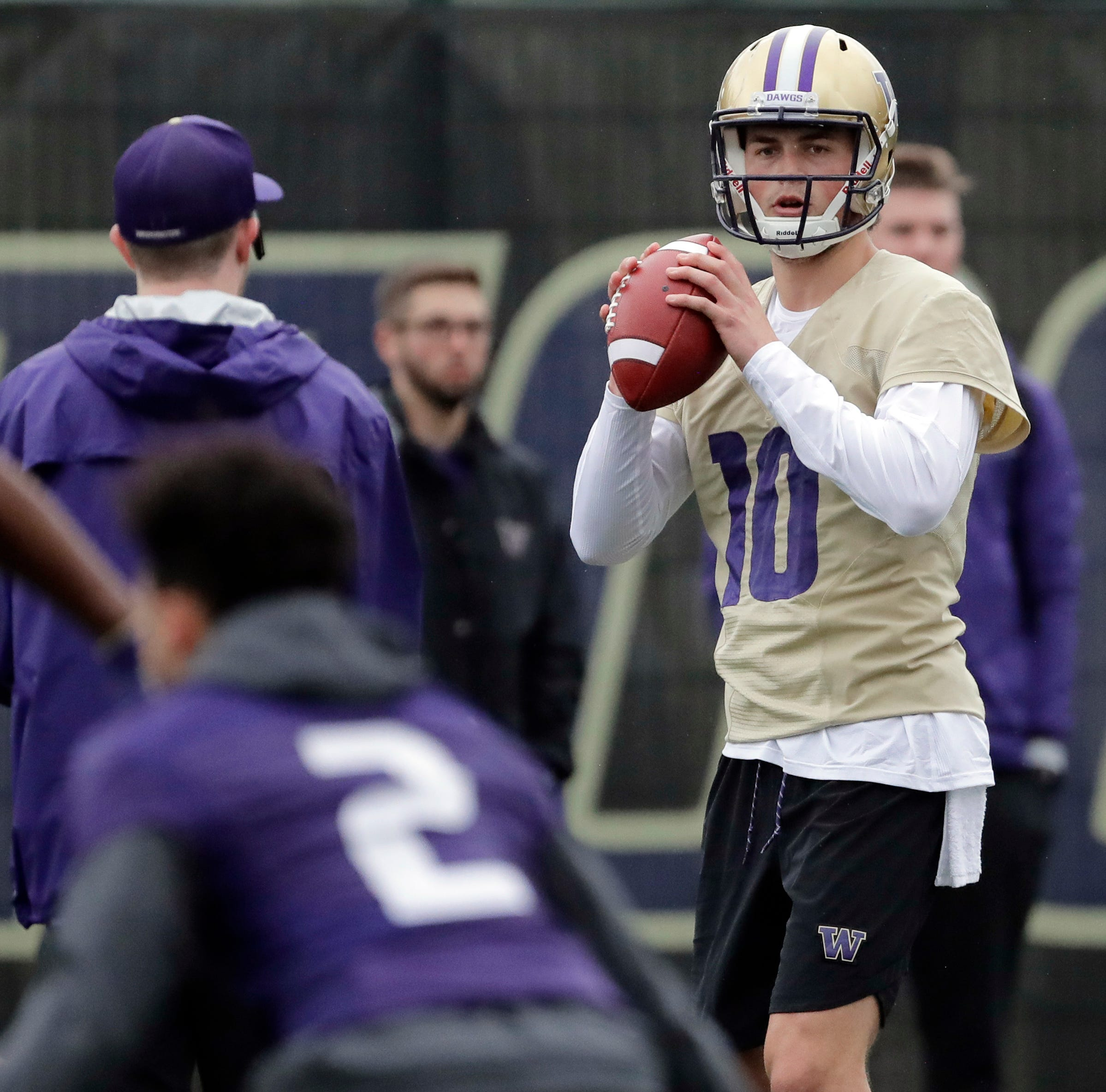 After sitting out, Jacob Eason in mix for Washington QB job