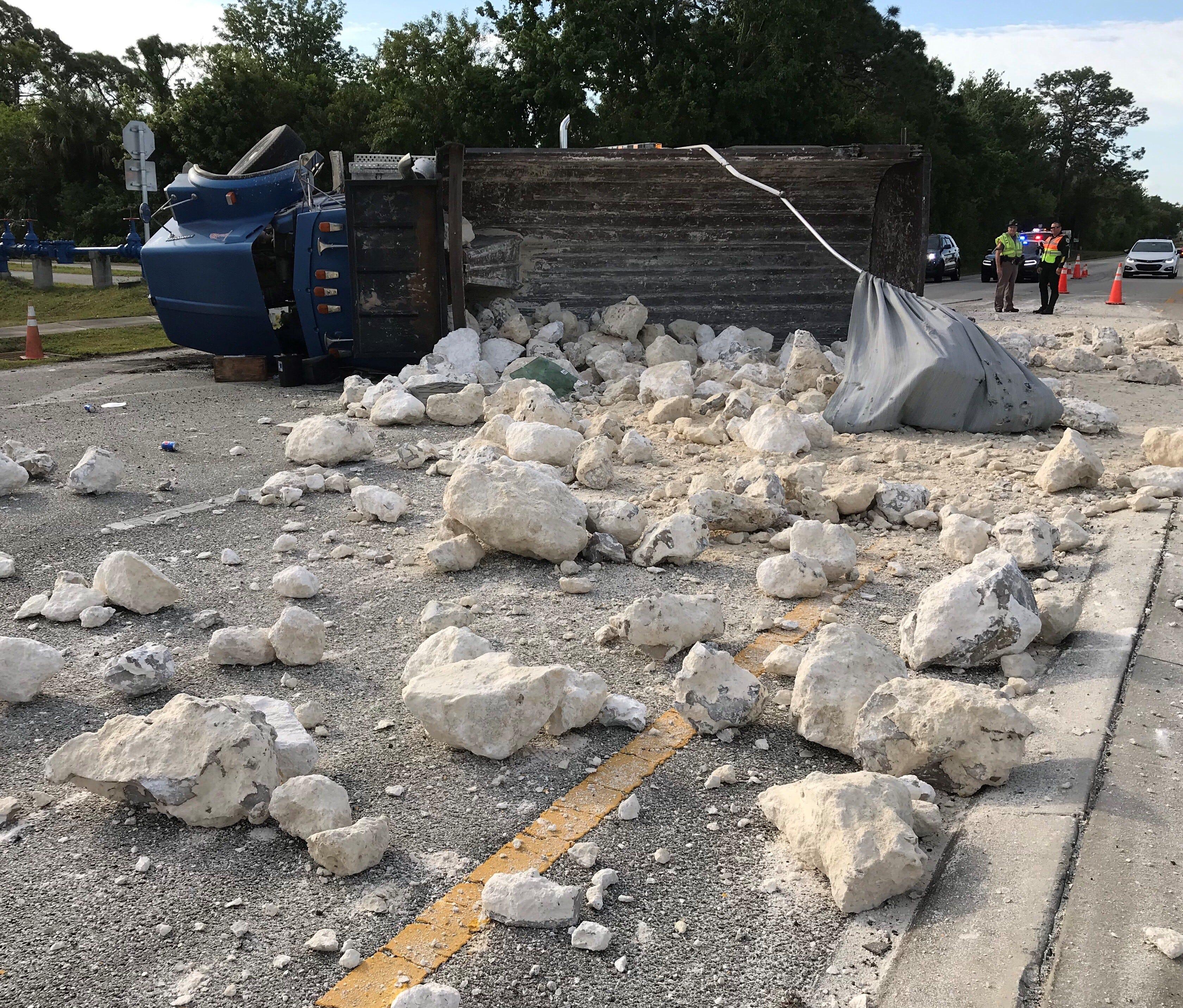 School buses crashes in Merritt Island