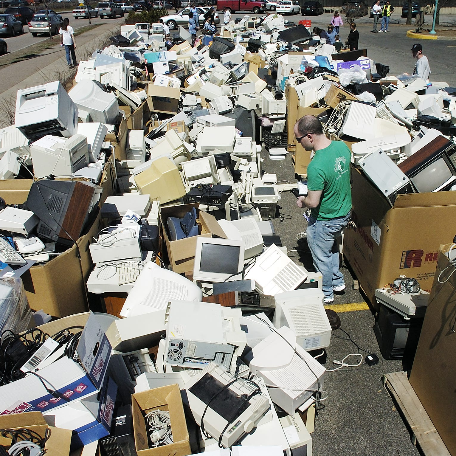 2011: VT law bans more electronics from landfills