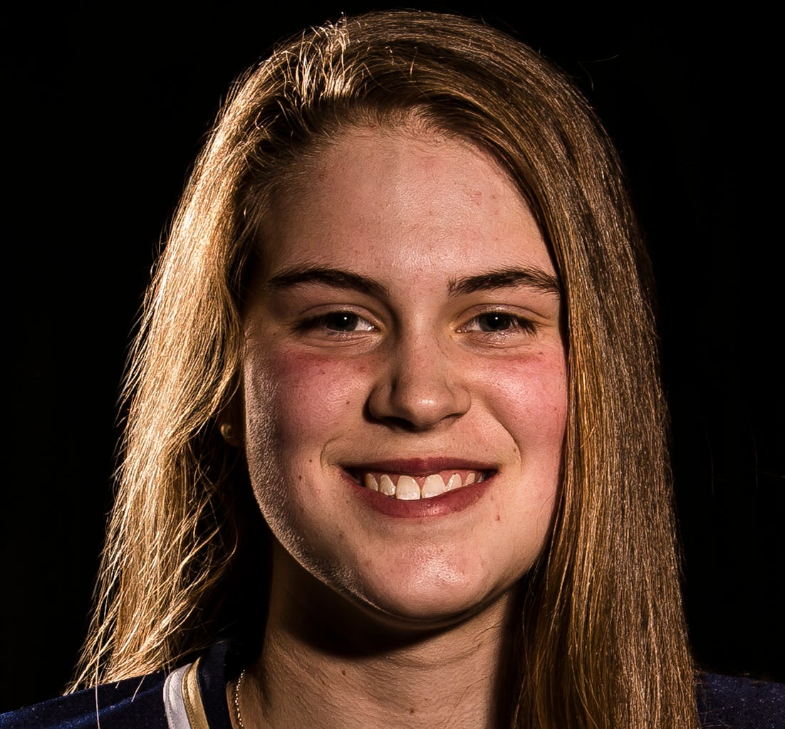 Olivia Miller-Johnson, Essex High School girl's ice hockey team, is Burlington Free Press Miss Hockey for 2019.