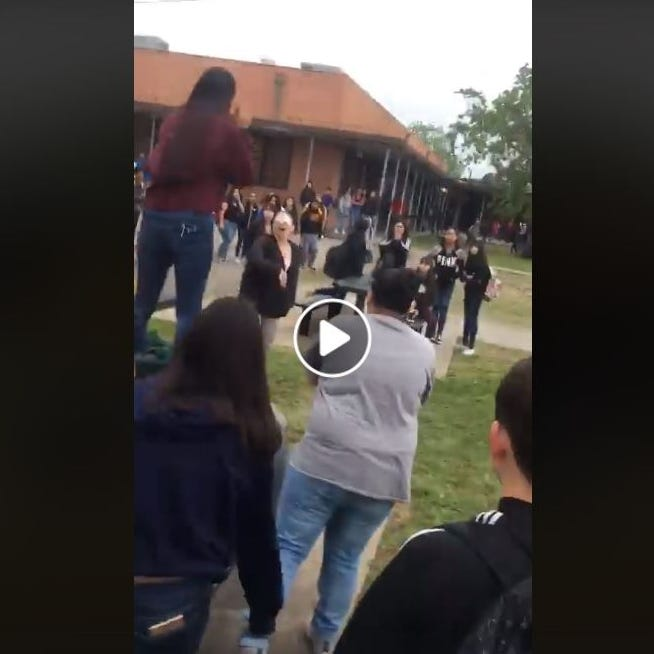 Video captures parent screaming profanities, threats at Cunningham student