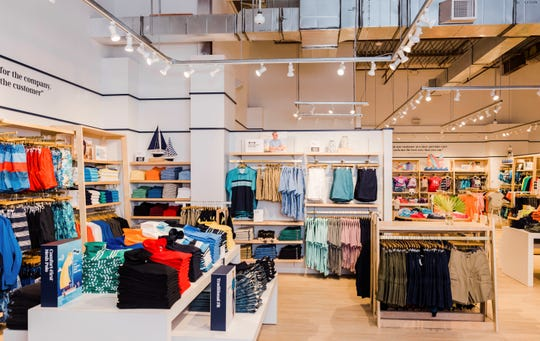 Lands' End plans to open a store in Cherry Hill next month.