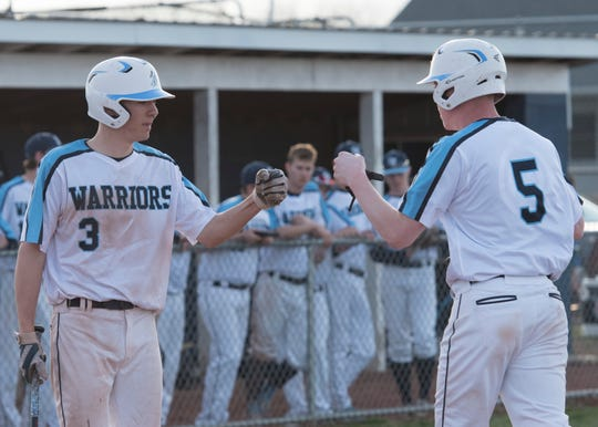 Adena baseball earned a 6-5 walk-off win over Washington CH on Thursday.