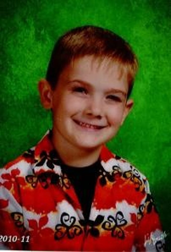 A child found Wednesday in Newport, Kentucky, identified himself to authorities as Timmothy Pitzen. Timmothy, pictured here, went missing as a 6-year-old in 2011.