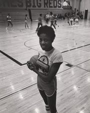 1978: Barvenia Wooten was a basketball player at Hughes High School.
