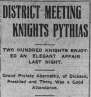 The Leaf-Chronicle dated January 24, 1906.