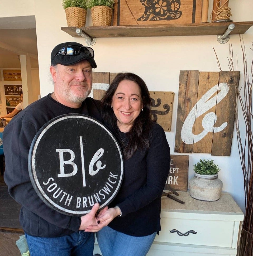 Board & Brush Creative Studio to celebrate grand opening Sunday in South Brunswick