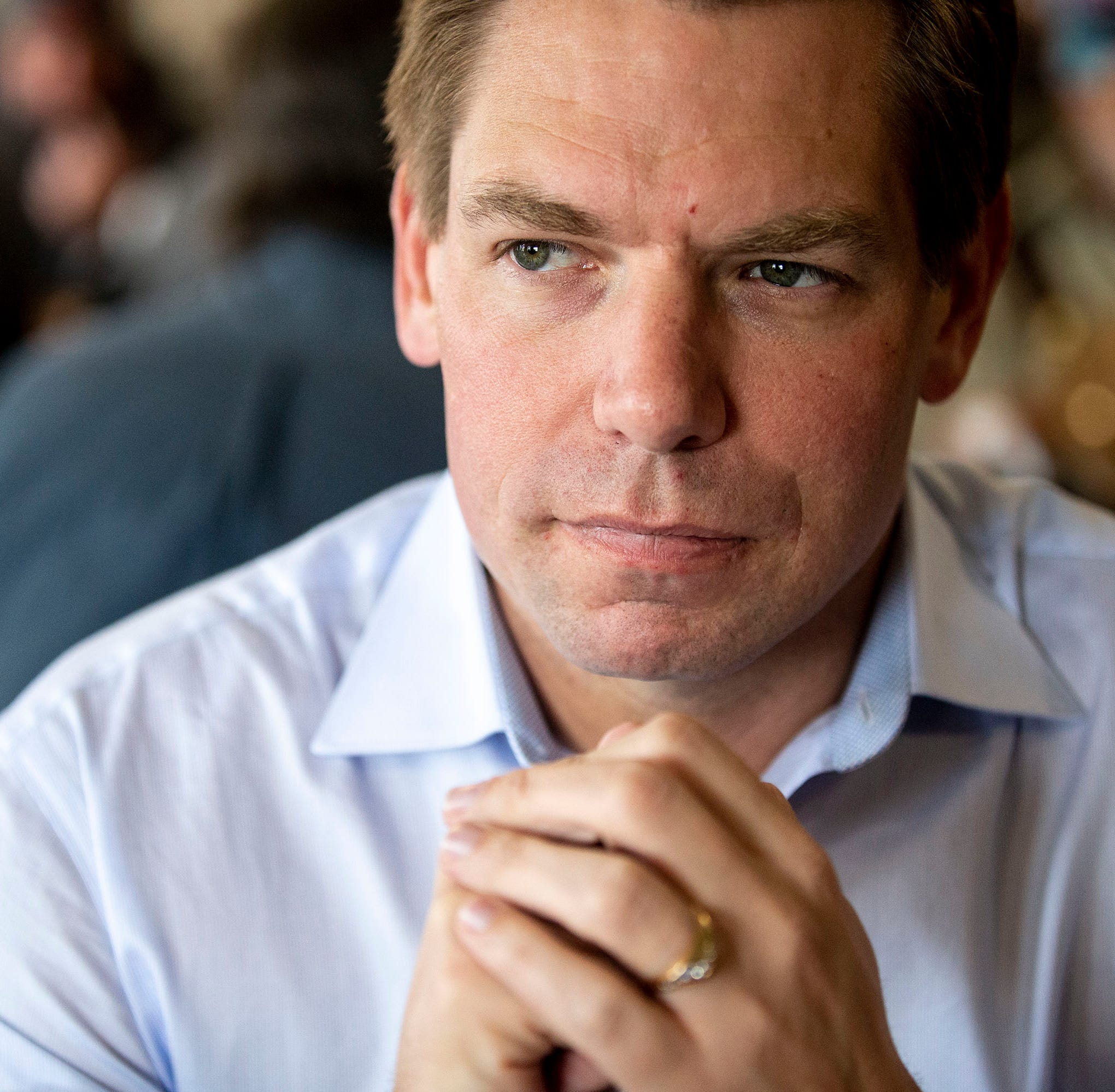 As Iowa-born Eric Swalwell launches 2020 presidential campaign, says, 'I want Iowans to know: I see you'