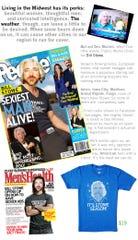 An e-newsletter announcing Raygun's new T-shirt honoring Bill Stowe.