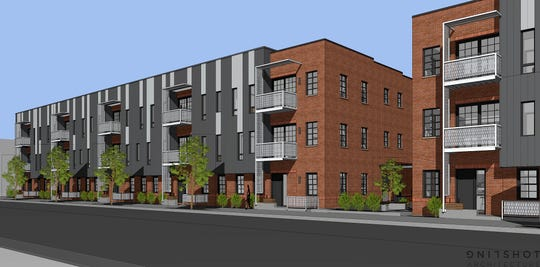 Edison will be 52 for-sale condo units in a pair of three-story buildings on Southwest Seventh Street.