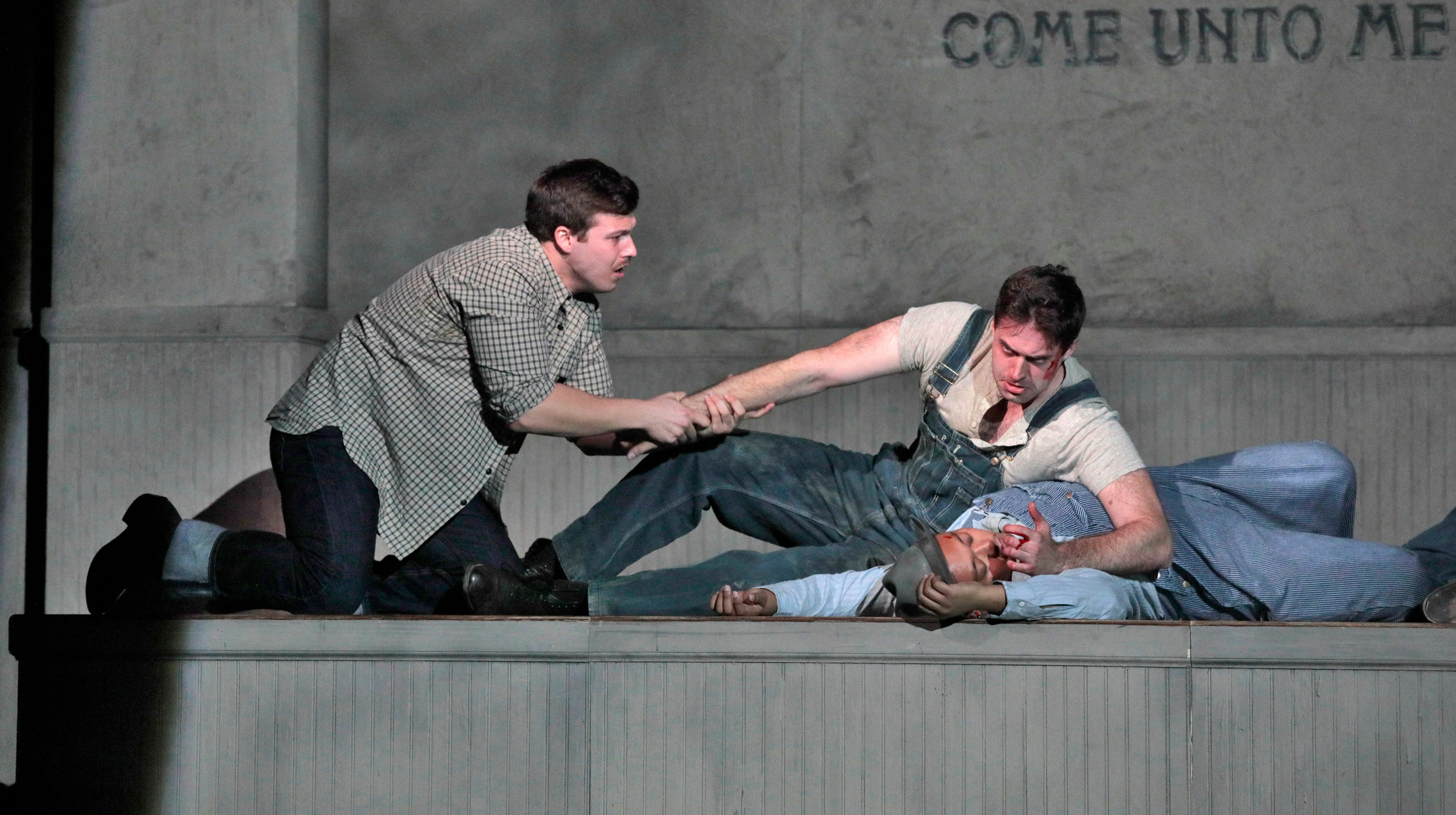 The Grapes of Wrath opera offers a compelling perspective on the novel's story, because it is experienced in one sitting.