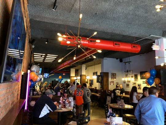 Historic memorabilia continues to line the walls of Detroit's renovated Anchor Bar as it reopens April 4 for the 2019 Detroit Tigers Opening Day.