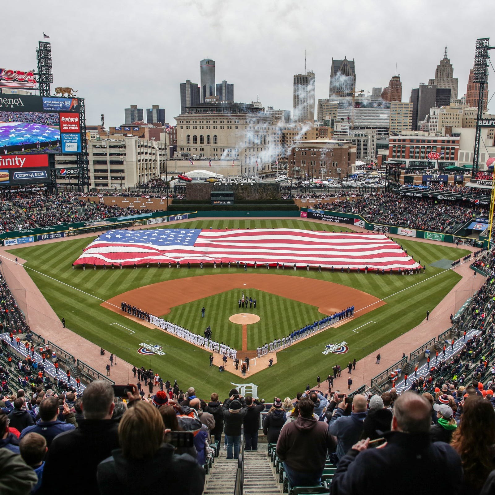 Lakeland Eagles baseball team will play at Comerica Park this weekend